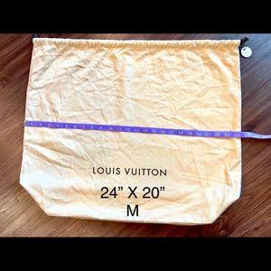 Louis Vuitton Drawstring large dust bag M